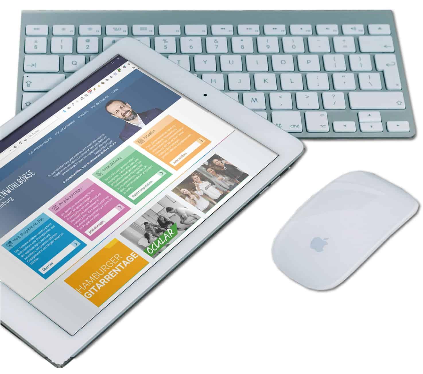 Wepportal und Online Plattform Entwicklung - Erstellung