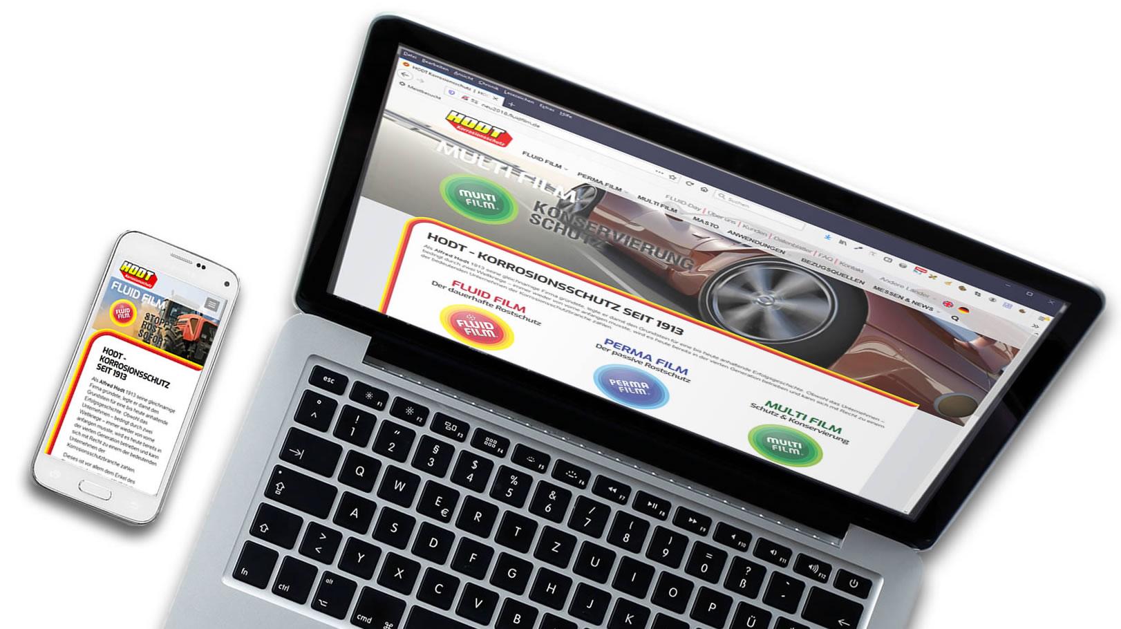 Webseiten Wartung - Internetagentur Hamburg