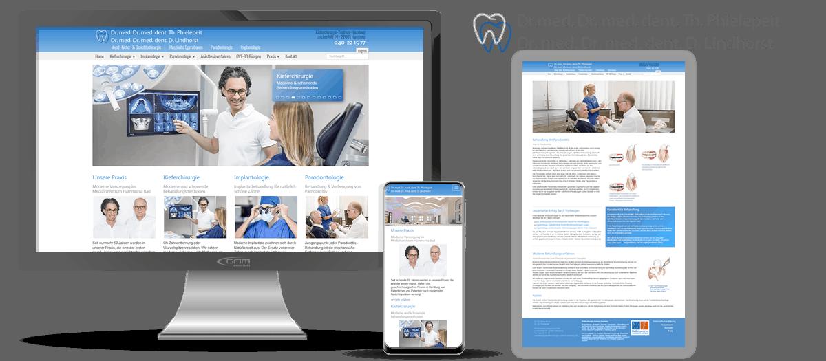 Internetseiten für Ärzte Hamburg